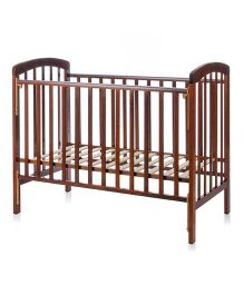 BabyCenter India Howard 892 Cot - Brown