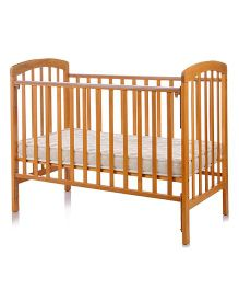 BabyCenter India Howard 892 Cot - Light Brown