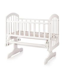 BabyCenter India Baby Cradle - White