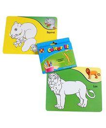 Toysbox - Colour It Wipe It Animals