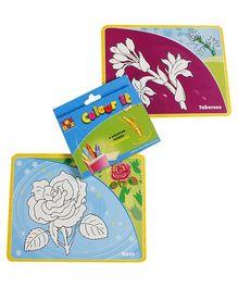 Toysbox Color It Wipe It Flowers - Multi Color