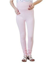 Blush 9 Bodycon Fit Maternity Leggings - Baby Pink
