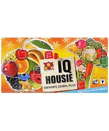 Toysbox Fruits And Vegetable I.Q Housie - Multi Color