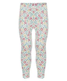 Earth Conscious Full Leggings Floral Print - Multi Color
