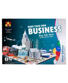 Toysbox Board Game Mind Your Own Business - Silver Coins