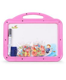 Funworld 2 in 1 Puzzle Slate - Pink