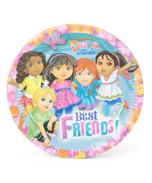 Dora & Friends Paper Plates - Multicolor