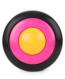 Shadilal Flying Saucer - Yellow Pink Black