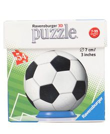 Ravensburger Sportsball 3D Puzzle White & Black - 54 Pieces