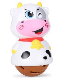 Sunny Shaking Bell Zodiac Rattle - White
