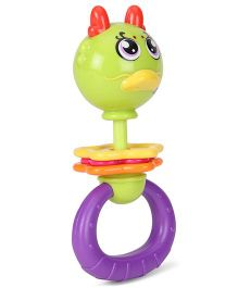 Sunny Shaking Bell Zodiac Rattle - Multicolor
