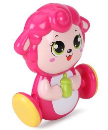 Sunny Shaking Bell Zodiac Rattle - Pink And Green
