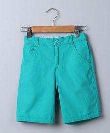 Beebay Canvas Shorts - Green