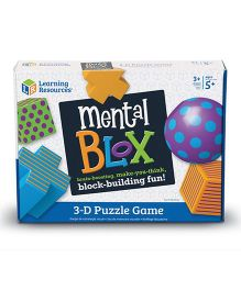 Learning Resources 3D Puzzle Mental Blox Critical Thinking Game - Multi Color