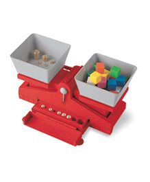 Learning Resources Precision School Balance With Weights - Red