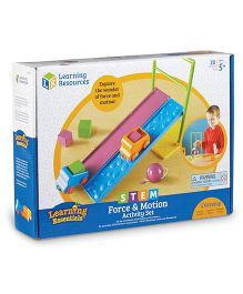 Learning Resources Stem Force & Motion Activity Set - Multi Color