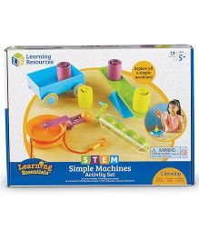 Learning Resources Stem Simple Machines Activity Set - Multi Color