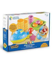 Learning Resources Stem Sink Or Float Activity Set - Multi Color