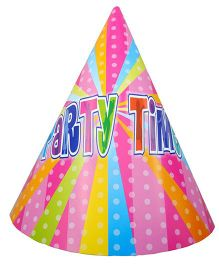 Shopaparty 10 Pieces Disco Party Paper Hats - Pink