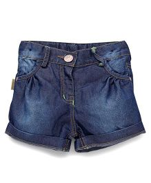Little Kangaroos Denim Shorts - Dark Blue