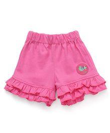 Little Kangaroos Shorts Bird Patch - Pink