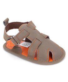 Luvable Friends Sandals - Brown