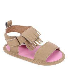 Luvable Friends Sandals - Fawn