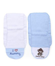 Luvable Friends Super Soft Sweat Towel - Blue