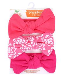 Yoga Sprout Cute Headbands 3Pk - Pink