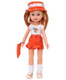 Speedage Ahnna Doll Orange & White - 33 cm