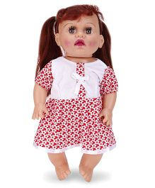 Speedage Tannu Baby Doll White And Red - 30 cm