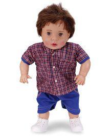 Speedage Aayush Baby Doll Blue - 60 cm