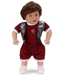 Speedage Aayush Baby Doll Maroon - 60 cm