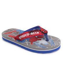 Marvel Spider Man Flip Flops - Grey