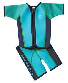 Splash About Surf Jacket & Shorts - Turquoise