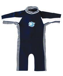 Splash About Uv Combi Swim Suit - Navy Blue