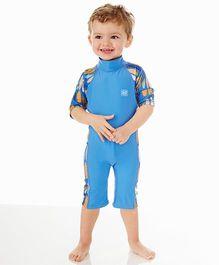 Splash About Uv Combi Surfs Up Swim Suit - Blue