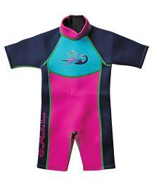 Splash About Shortie Surf Wet Suit - Pink