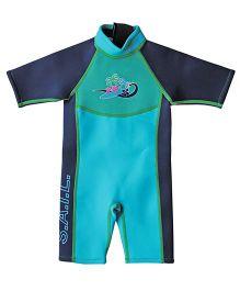 Splash About Shortie Surf Wet Suit - Turquoise