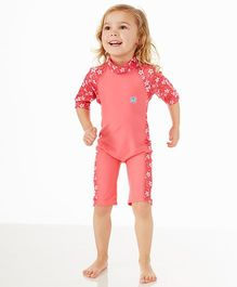 Splash About Toddler Uv Swim Suit Blossom - Pink