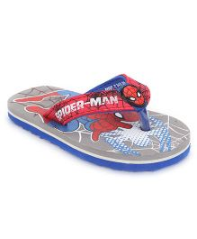 Marvel Spider Man Flip Flops - Grey