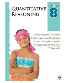 Macaw Quantitative Reasoning Book 8 - English