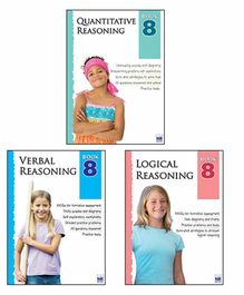 Macaw Reasoning Set 8 Pack of 3 Books - English