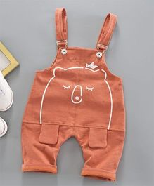 Pre Order - Awabox Teddy Bear Dungaree - Orange