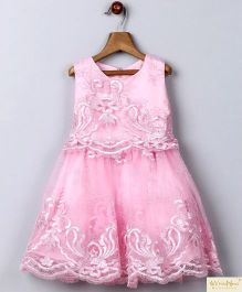 Whitehenz Clothing Moonlight Lace Lovely Party Dress - Pink