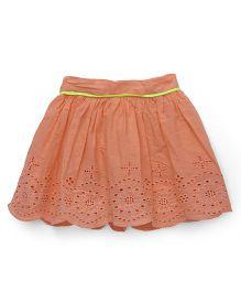 Vitamins Skirt Hakoba Design - Soft Orange