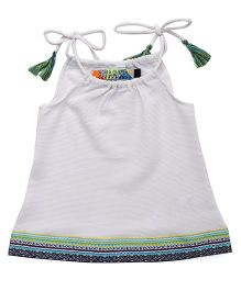 Vitamins Singlet Top - Off White