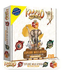 Kaadoo Explore Wild Africa Board Game