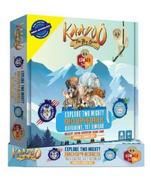 Kaadoo Explore Two Mighty Biospheres Board Game