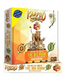 Kaadoo Explore The Land Of The Big Roar Board Game